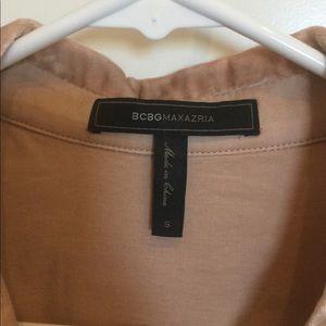 BCBGMaxAzria Tops - BCBG velvet blouse.